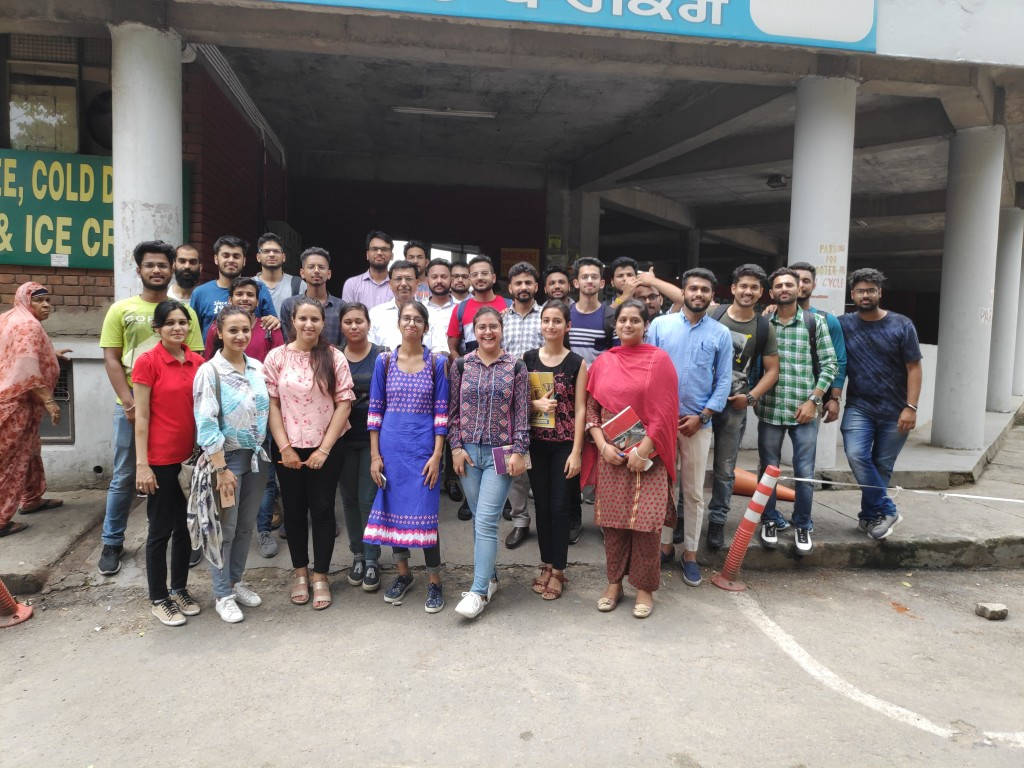Study Visit to ISBT Chandigarh